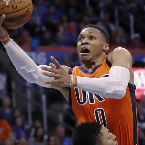 Russell Westbrook's one-man show suddenly has ...