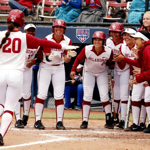 OU Softball plays Louisiana Tech at Hall of Fame Stadium.