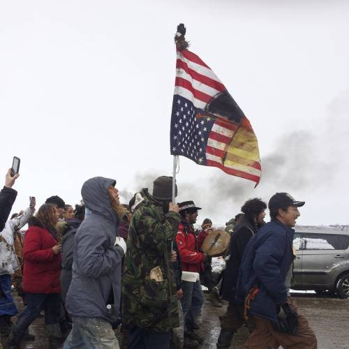 Protesters peacefully exit Keystone XL Pipeline camp