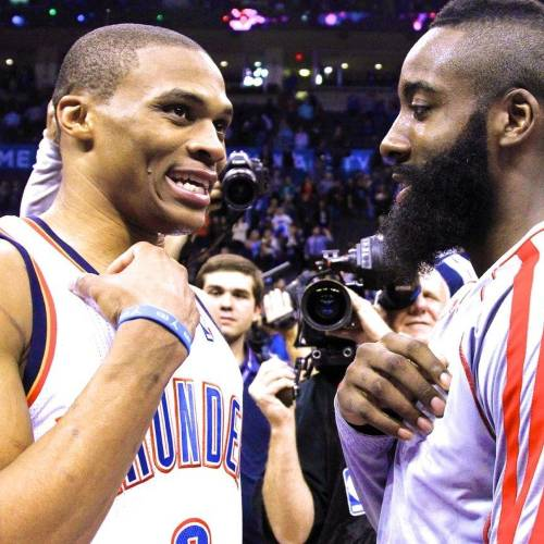 James Harden Quadruple Team: OKC Thunder: Kendrick Perkins Says James Harden Needed His