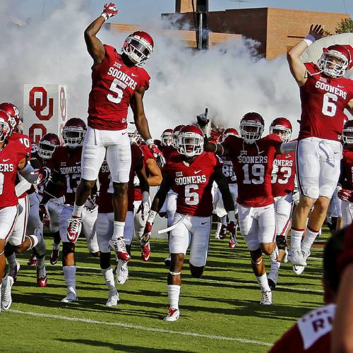 Oklahoma Football Sooners Favored Over Ohio State In