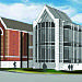 Conceptual designs for a new Oklahoma Tourism and Recreation Department headquarters show a...