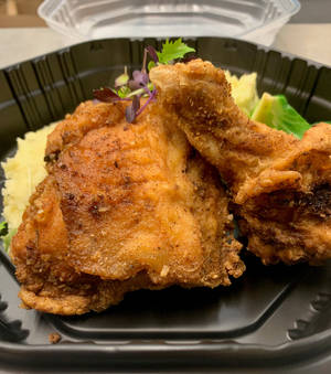 Fried chicken is among the entrees Kam's Kookery will offer for meal pick-up service. [Dave Cathey/The Oklahoman]