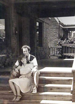Dr. Glenn Ashmore with wife Arlene at Dental Depot's original location on 23rd Street in Oklahoma City. The couple converted a small home and turned it into a dental practice in 1978. Photo provided by Dental Depot.