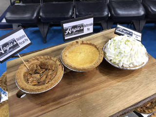 Mini pies from Angie's Southern Kitchen.