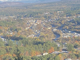 The view of Littleton, New Hampshire, from Kilburn's Crag. (Photo by Berry Tramel)