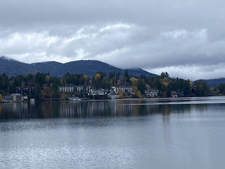 Lake Placid is a tourist destination in all seasons. (Photo by Berry Tramel)