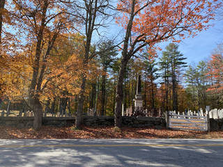 The cemetery in Francestown, New Hampshire. (Photo by Tricia Tramel)