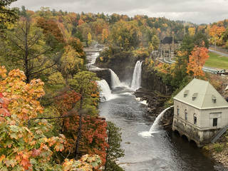 Ausable Falls is a gorgeous spot in the Adirondacks. (Photo by Tricia Tramel)