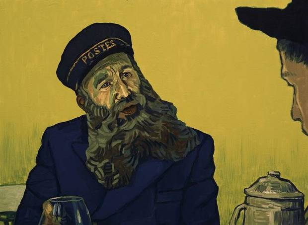 Movie Review First Fully Oil Painted Feature Film Loving Vincent Is An Artistic Accomplishment