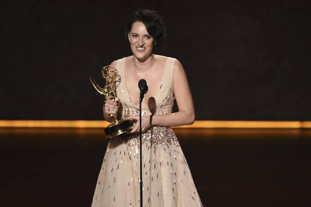 The Latest: Waller-Bridge upsets Louis-Dreyfus with Emmy win