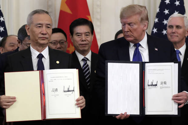 Emphasis on US exports, trade secrets in China trade deal