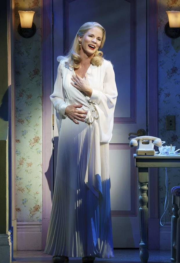 "Kelli O'Hara plays the title role in the Broadway revival of ""Kiss Me, Kate."" [Photo by Joan Marcus]"