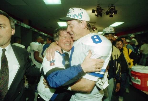 Jimmy Johnson answers whether Jerry Jones will present him at Pro Football Hall of Fame induction