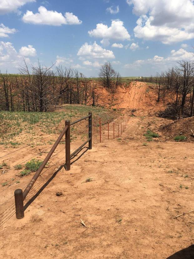 Farmers, ranchers and folks contributed about $900,000 to help out Oklahoma wildfire victims