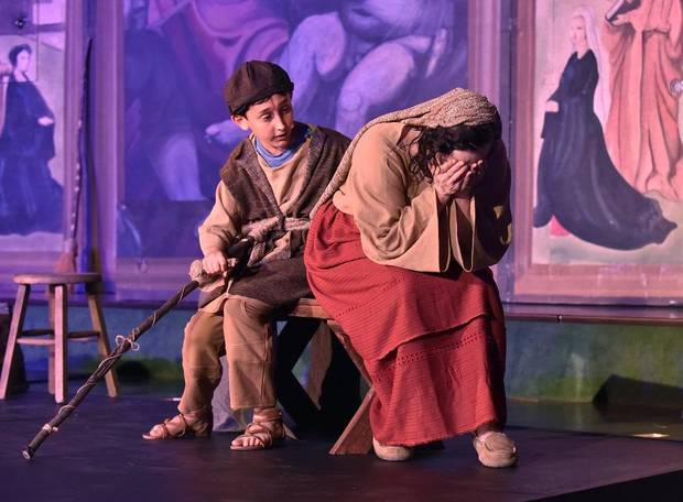 "Painted Sky Opera's production of ""Amahl and the Night Visitors"" returns for its third year at 7 p.m. Dec. 11 and 2 p.m. Dec. 12 at Freede Little Theatre at Civic Center Music Hall. [Photo provided]"