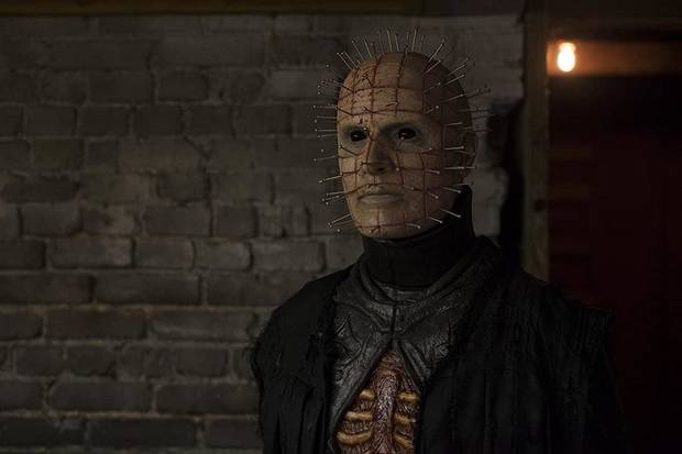 "Paul T. Taylor plays Pinhead in ""Hellraiser: Judgment."" [Lionsgate photo]"