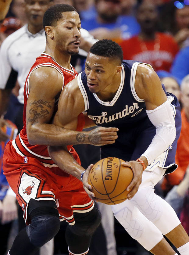 Derrick Rose And Russell Westbrook Careers Have Diverged