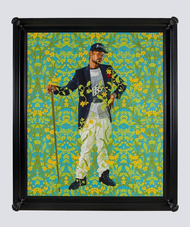 "The Oklahoma City Museum of Art has purchased Kehinde Wiley's 2018 portrait ""Jacob de Graeff,"" with funds from the Carolyn A. Hill Collections Endowment and the Pauline Morrison Ledbetter Collections Endowment. It is expected to go on view March 1. [Photo provided]"