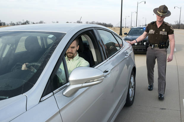 "From May 21 through June 3, covering the busy Memorial Day weekend, Oklahoma law enforcement agencies will join the nation-wide ""Click It or Ticket"" enforcement campaign to remind people to wear their seat belts. Photo provided by OHSO."