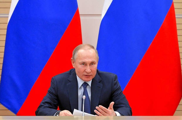 Russia: New constitutional changes suggested with Putin's