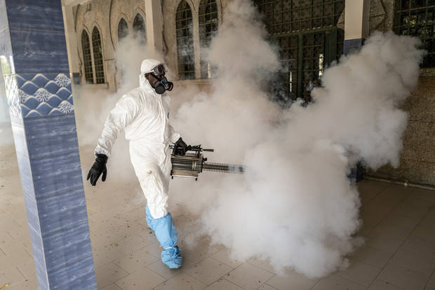 Africa faces an 'existential threat' as virus cases spread