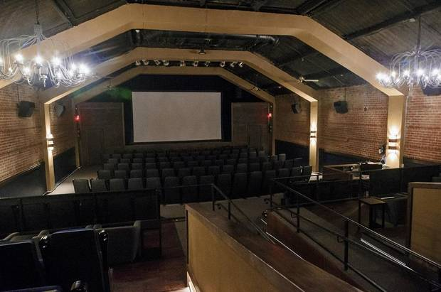 The theater at Rodeo Cinema, 2221 Exchange Ave. in Stockyards City in Oklahoma City, Okla., is shown on Friday, Sept. 21, 2018. The nonprofit indie theater, which opened in falll 2018, closed temporarily due to the coronavirus pandemic in March. [Chris Landsberger/The Oklahoman Archives]