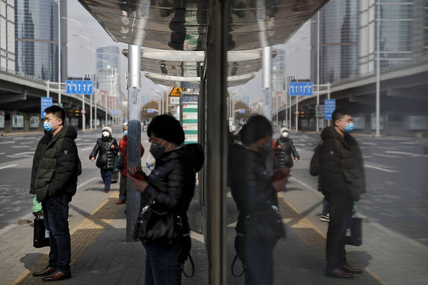 Virus spreads in the West as crisis seems to ease in China