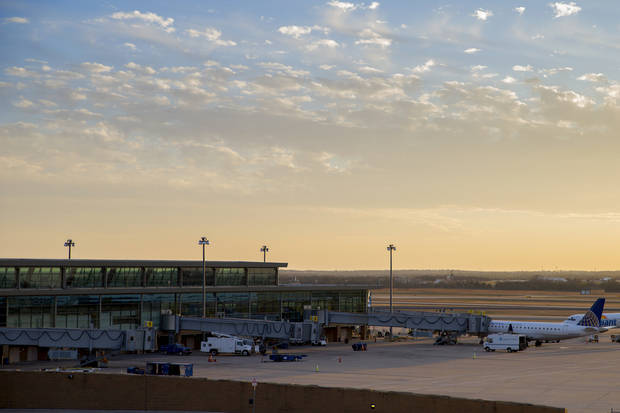 Will Rogers World Airport in Oklahoma City. (Photo by Bryan Terry, The Oklahoman)