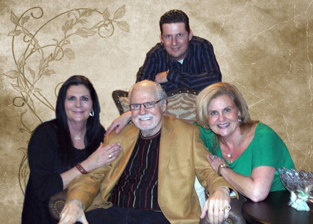 Skip McCasland surrounded by his children. He passed the business on to his children Kim, Karla and Lance, and prepared them for the business legacy that the family would continue and grow. Photo provided.
