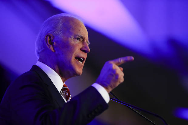 The Latest: Biden meets with black newspaper publishers