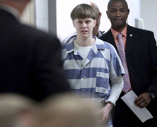 White supremacist appeals death penalty in church massacre
