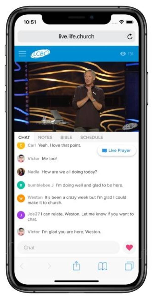 Online pastor shares insights about Life.Church's Church Online Platform