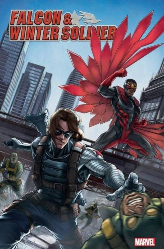 Word Balloons: New 'Falcon & Winter Soldier' comic on shelves before streaming series