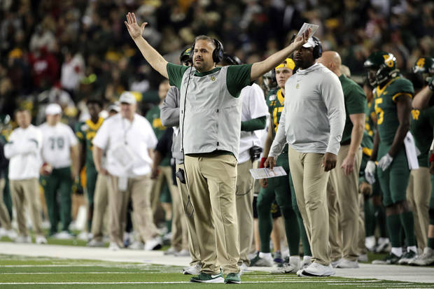 Oklahoma football: Matt Rhule wants playoff restricted to league champs