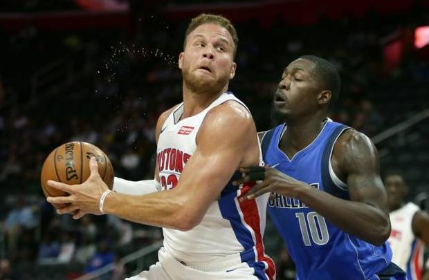 NBA NOTEBOOK: Pistons to start season without Blake Griffin