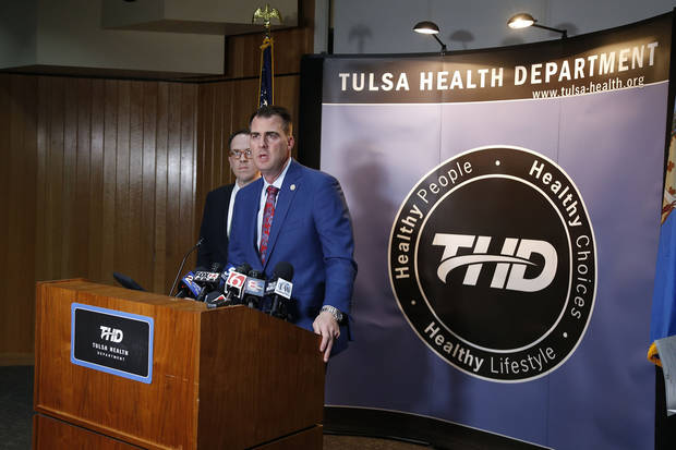 Coronavirus in Oklahoma: Stitt extends 'nonessential' business closures to all 77 counties