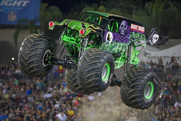 Grave Digger is among the most famous trucks featured in Monster Jam's touring shows. [Photo provided]