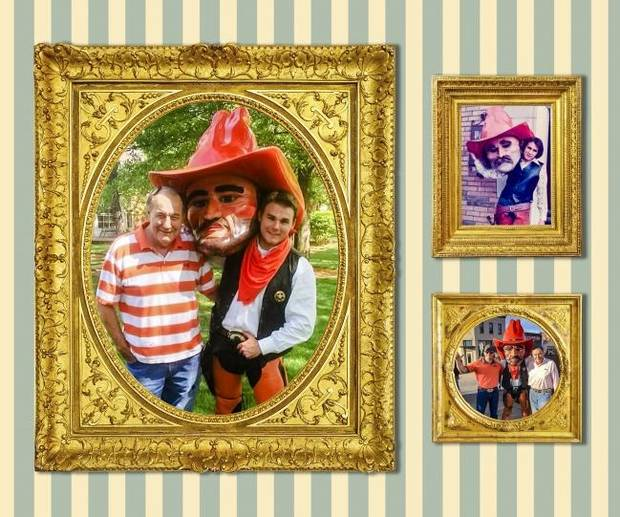 Being Pistol Pete: All have big boots to fill, but for one, he simply wanted to be like his dad