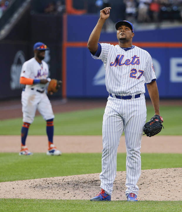 MLB Notebook: A's acquire closer Familia from Mets