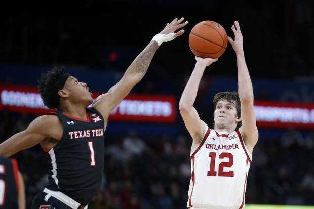 'That set the tone for us': Austin Reaves' 3-pointers help Sooners beat No. 22 Texas Tech