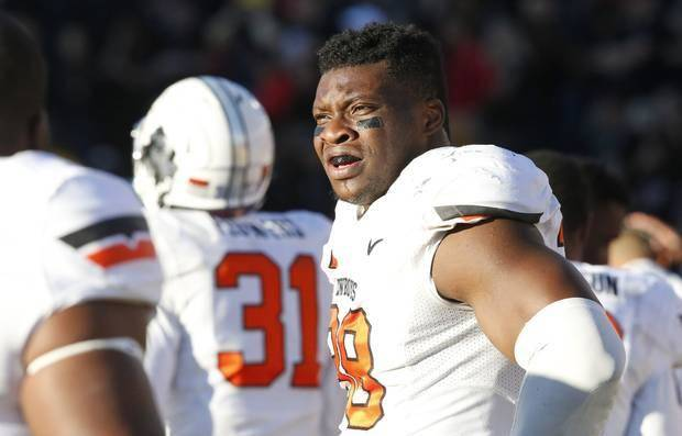 Emmanuel Ogbah: Oklahoma State Football: Emmanuel Ogbah Signs With Super