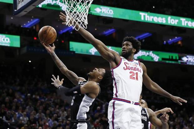 NBA notebook: Sixers send Spurs to eighth straight loss