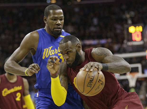 NBA Finals: Durant's late heroics lifts Warriors over Cavaliers
