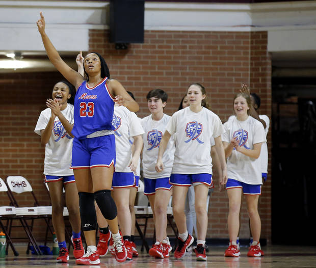Moore's Aaliyah Moore named 2019-20 Central Oklahoma Athletic Conference girls basketball Player of the Year
