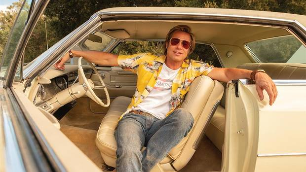 "Brad Pitt stars in ""Once Upon a Time in Hollywood."" [Columbia Pictures photo]"