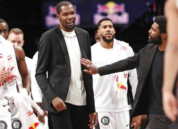 Four Nets players, including Kevin Durant, who had coronavirus are symptom-free