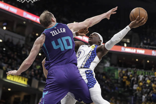 Pacers beat Hornets 107-85 for 3rd straight victory