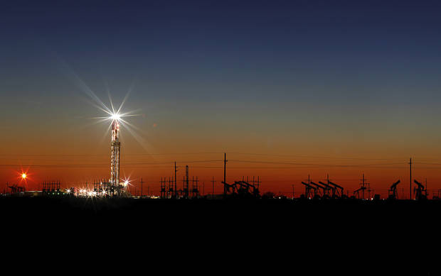 Chaos and scrambling in the US oil patch as prices plummet