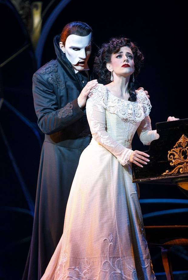 "From left, Gardar Thor Cortes and Meghan Picerno star Andrew Lloyd Webber's ""Love Never Dies."" The sequel to ""The Phantom of the Opera"" is coming to Oklahoma City on Nov. 13-18. Photo provided by Joan Marcus"